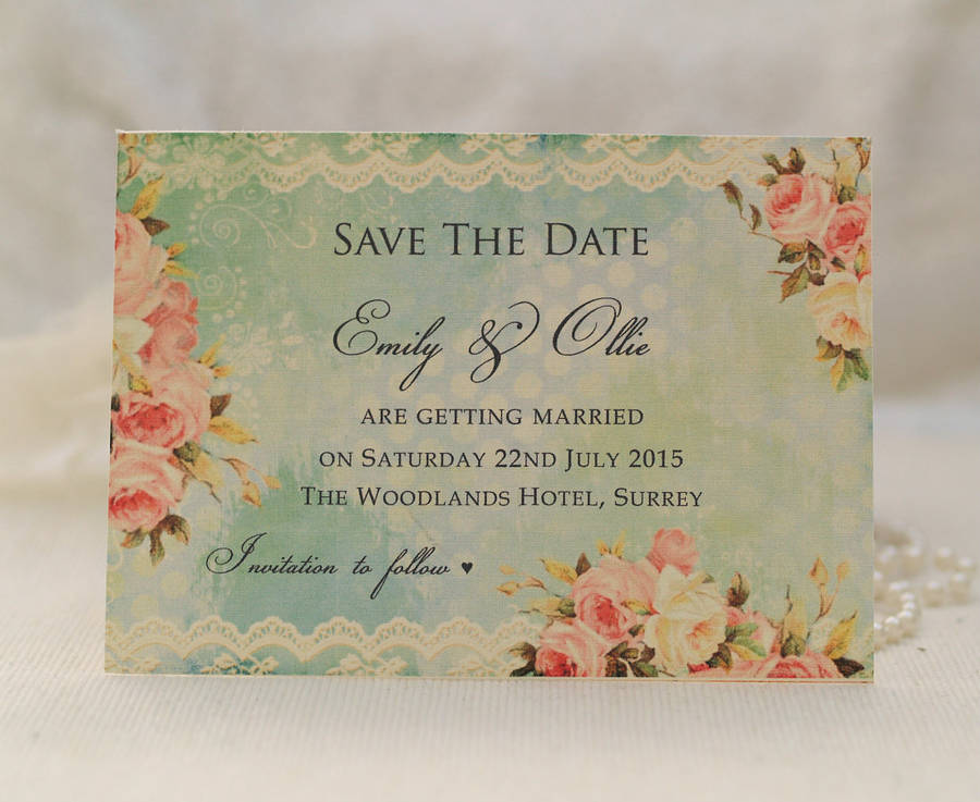 Save Date Cards Greek Theme