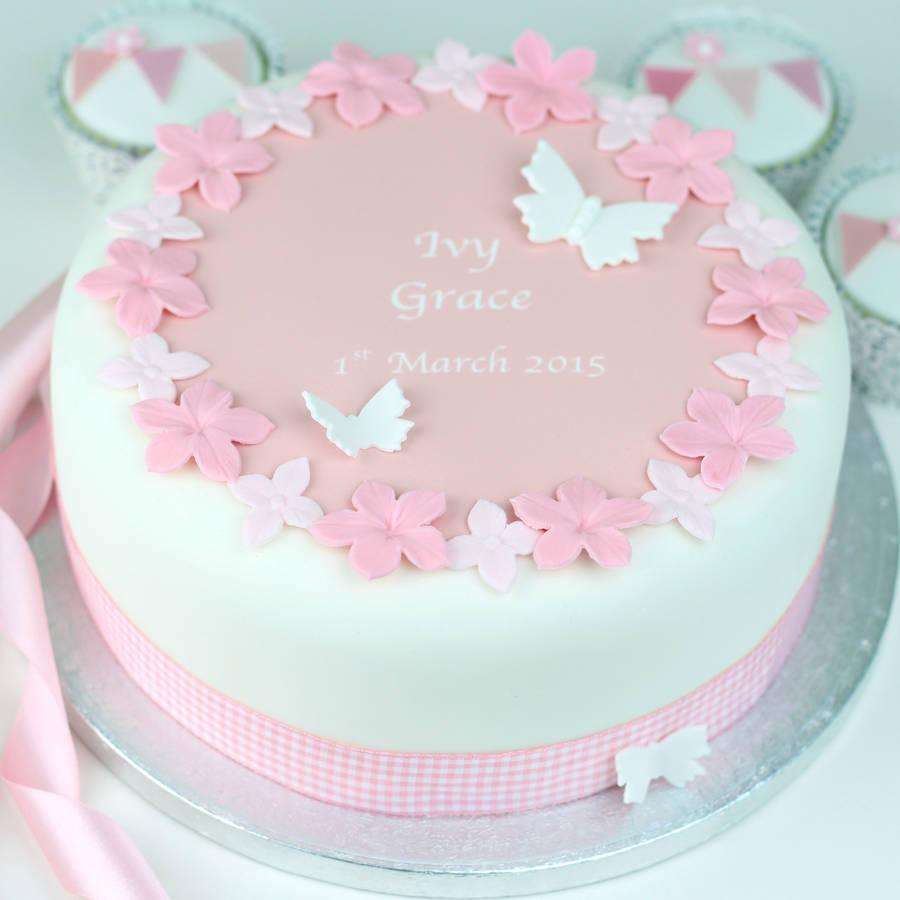 Unique Christening Cakes