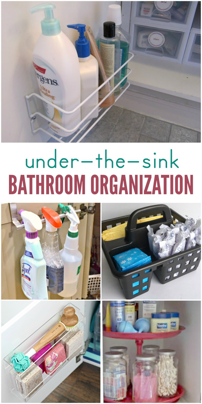 Baskets Under Bathroom Sink