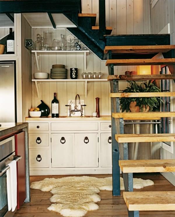 55 Amazing Space Saving Kitchens Under The Stairs | Cabinet Design Under Stairs | Kitchen | Interior Design | Houzz | Stairs Storage Ideas | Understairs Storage