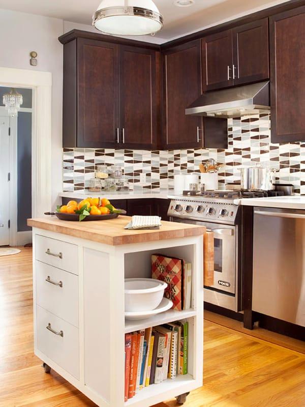Small Kitchen Designs Island
