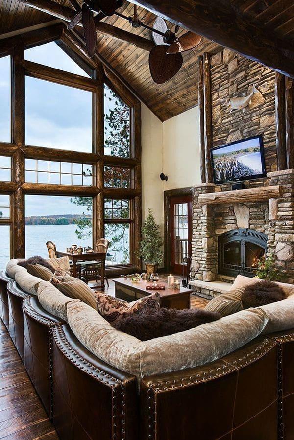 Rooms Unique Decorated Living Warm