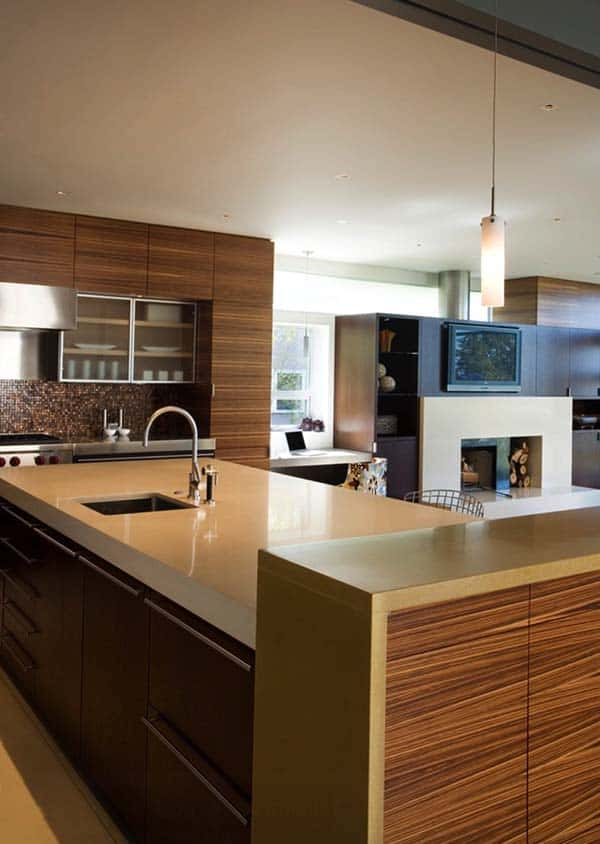 40 Amazing and stylish kitchens with concrete countertops Kitchen Concrete Countertops 11 1 Kindesign