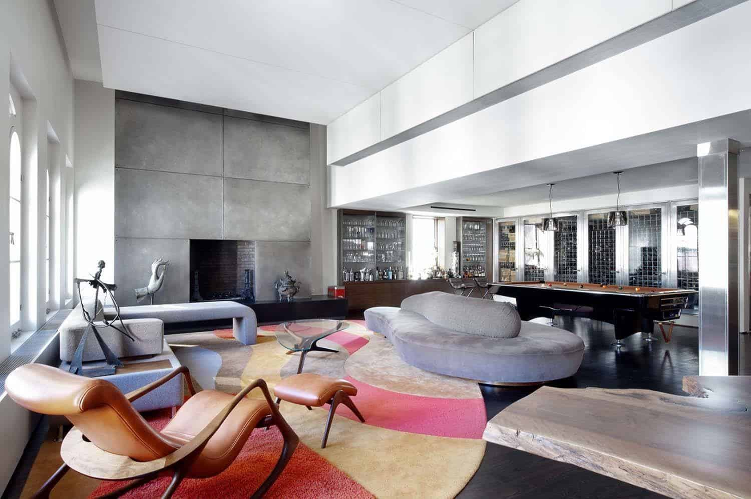 Chic And Trendy Triplex Penthouse In Tribeca New York