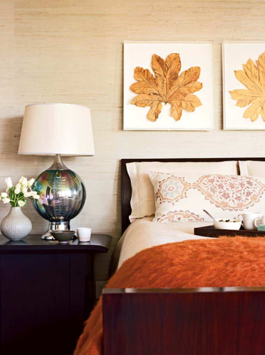 25 Insanely cozy ways to decorate your bedroom for fall bedroom decorating for fall 01 1 kindesign