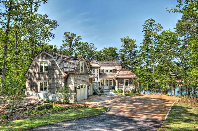 Charming Shingle Style Cottage On Lake Keowee South Carolina