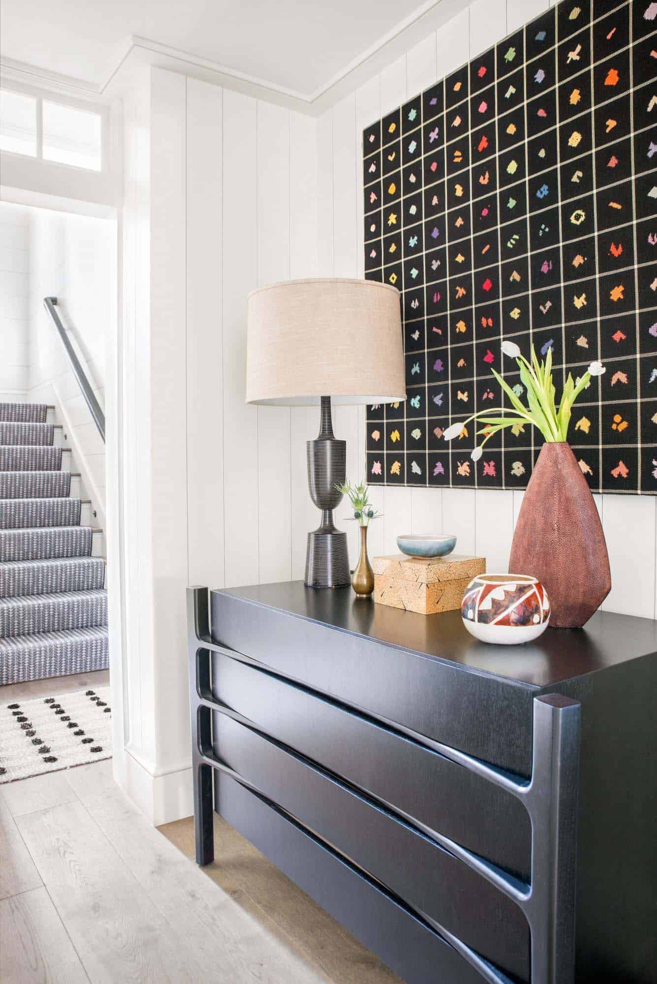 Gorgeous Kiawah Island Beach House Showcases Black And