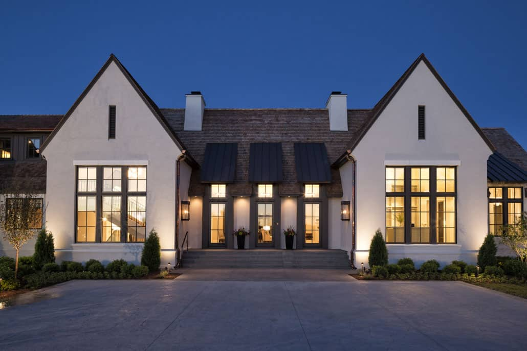 English Tudor Style Home In Minnesota With A Stunning