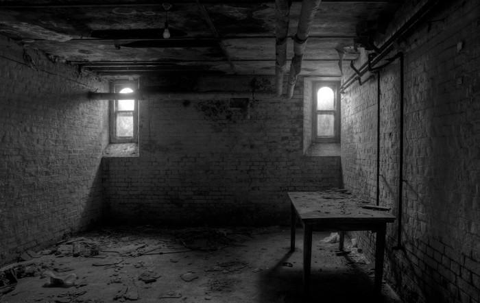 And Creepy Background Room Dark