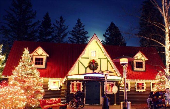 Santa North Pole Christmas Village