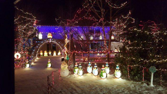 Large Christmas Light Displays