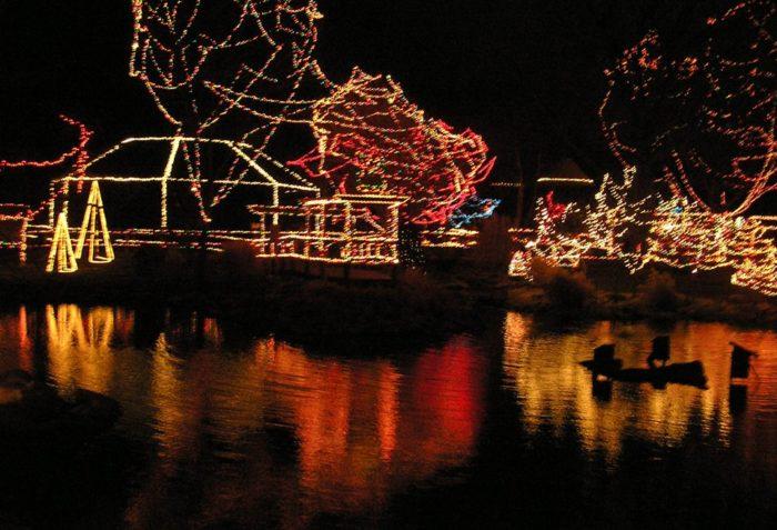 Kansas City Zoo Christmas Lights