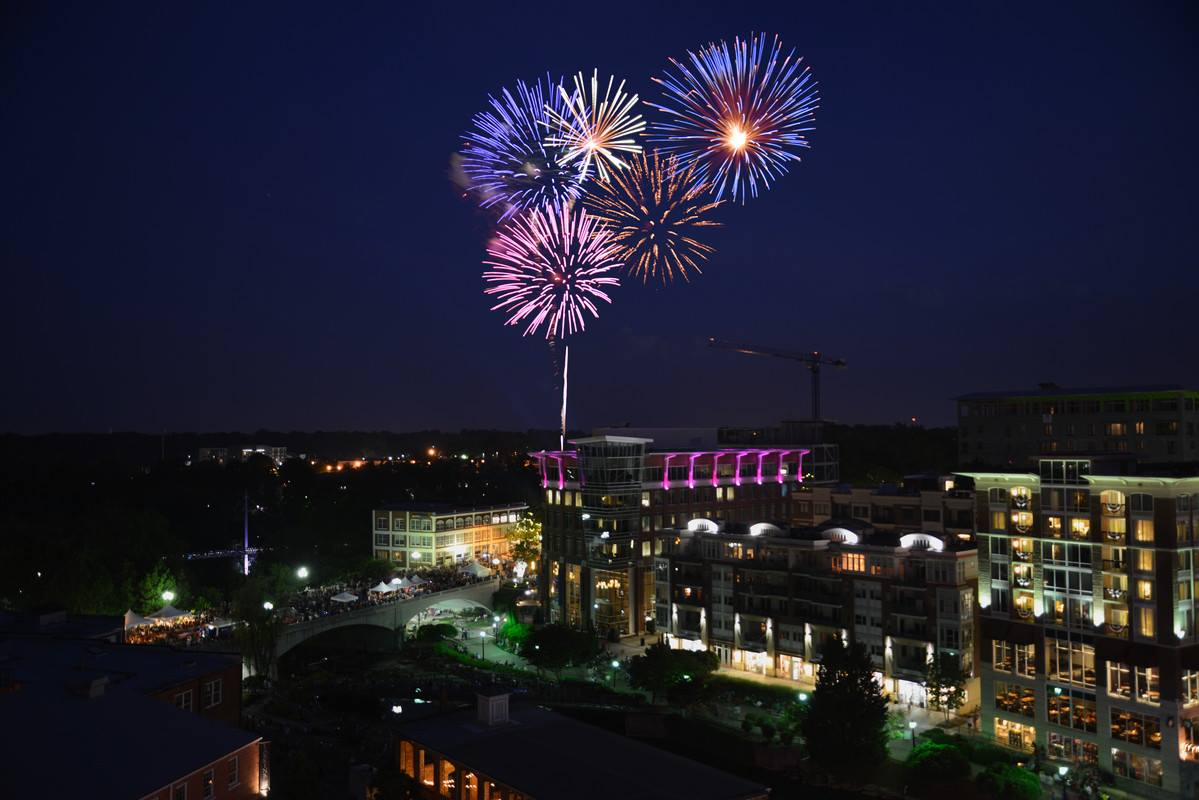 The Best 4th Of July Fireworks Shows In South Carolina In