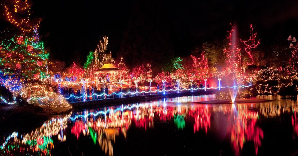 Kansas City Zoo Christmas Lights