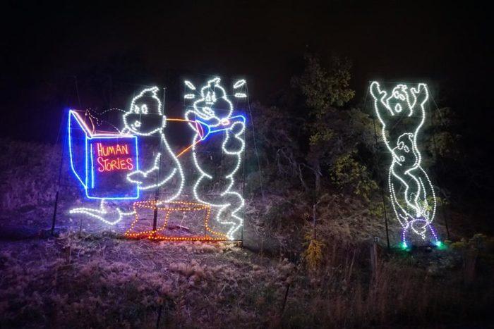 Utah Zoo Lights