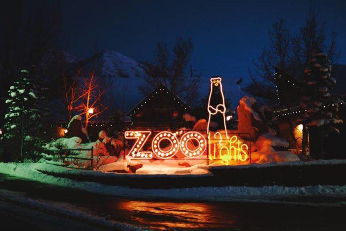 Zoo Lights Utah Hogle Zoo