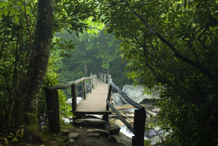 Chimney Tops Trail Offers Amazing Smoky Mountain Views