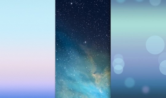 Grab the iOS 7 Default Wallpapers for iPhone   iPod touch