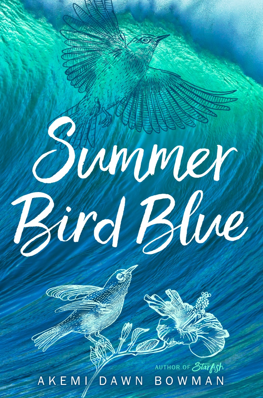 Exclusive Cover Reveal Summer Bird Blue By Akemi Dawn