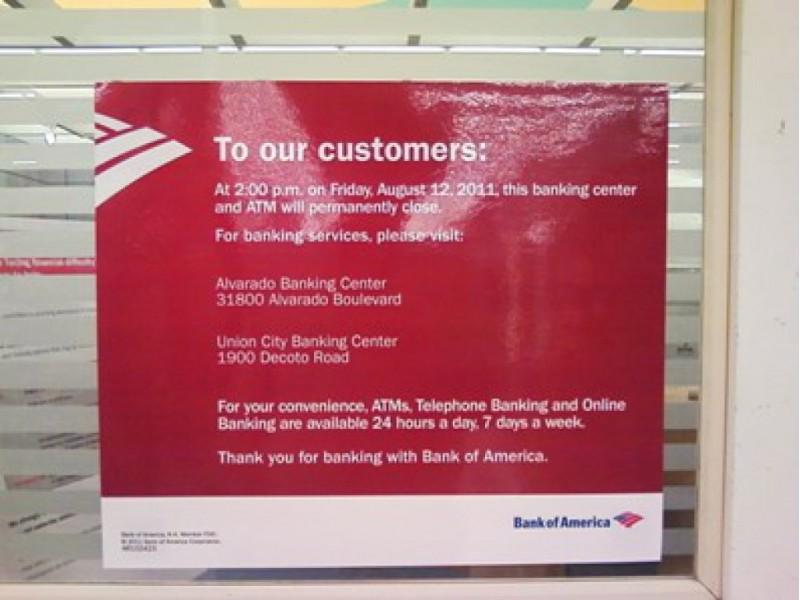 Locations Bank America 95831
