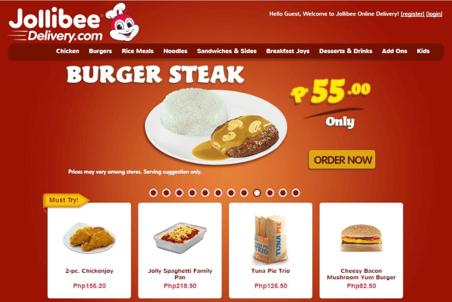 Philippines Delivery Jollibee Online