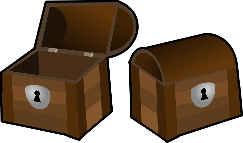 Treasure Clip Art Box Chest