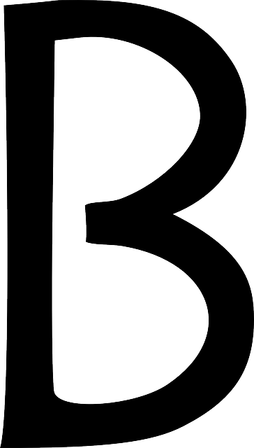 Letter B Type 183 Free Vector Graphic On Pixabay
