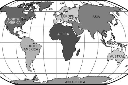 world globe map black and white » Full HD Pictures [4K Ultra]   Full ...