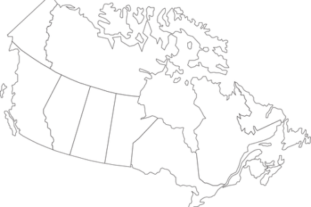 canada map outline vector » Full HD MAPS Locations - Another World ...
