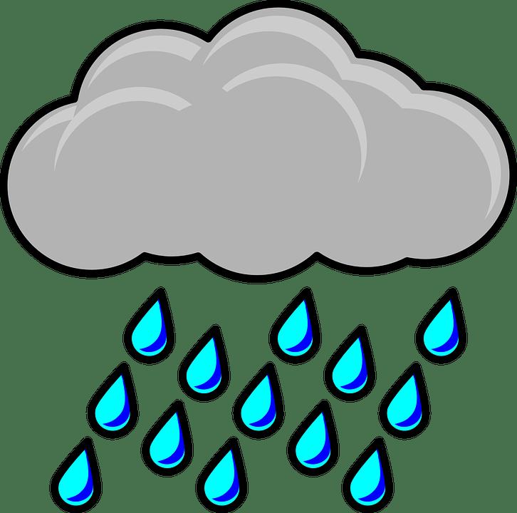 Raincloud Storm Weather 183 Free Vector Graphic On Pixabay