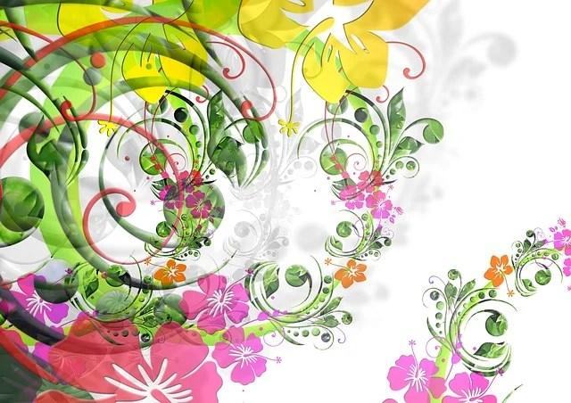 Illustration Gratuite Fleurs Dessin Floral Flora