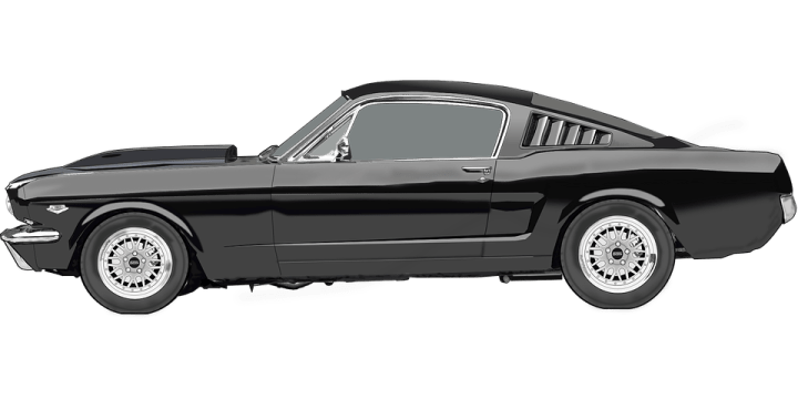1955 ford cars » Ford Mustang Car Racing Sports      Free vector graphic on Pixabay ford mustang car racing car sports car automobile