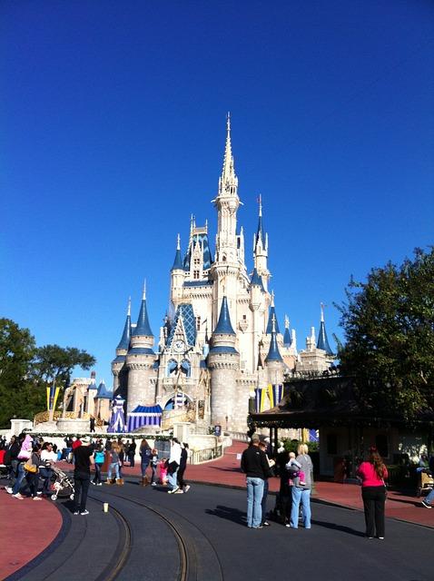 Free Photo Disney World Cinderella S Castle Free Image