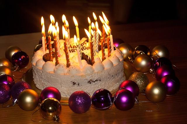 Free Photo Birthday Cake Candles Cake Free Image On