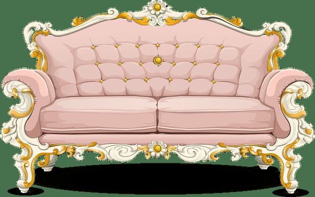 Furniture Cartoon Transparent Background