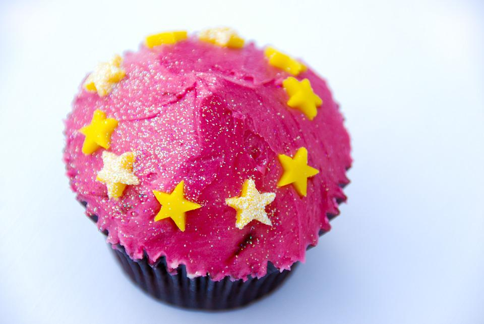 Free Photo Cake Stars Sweet Food Muffin Free Image