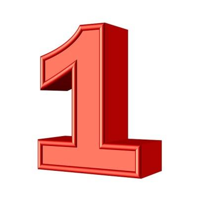 One 1 Number · Free image on Pixabay