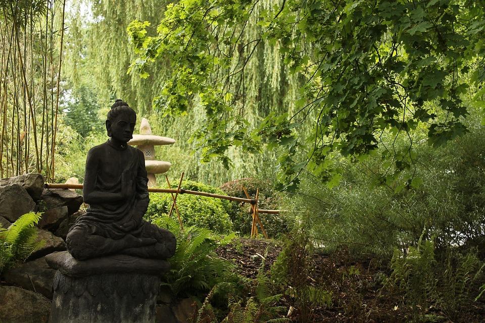 Flower Garden Statues