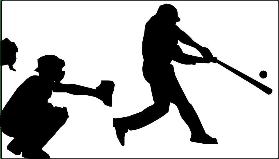 boy baseball pitcher silhouette