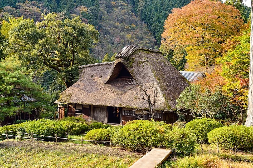 Japan Landschaft Japanischer Stil - Kostenloses Foto auf Pixabay