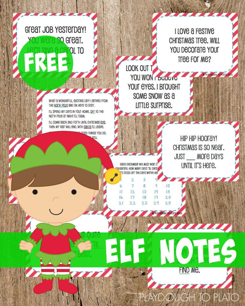 santa letter printable preschool