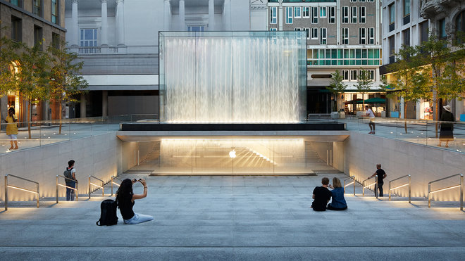 8 of the most stunning Apple stores around the world Apple Piazza Liberty  Milan
