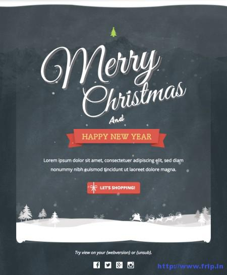 New Year Email Template   Download Free   Premium Templates  Forms     Free Christmas and New Year Email Templates Download