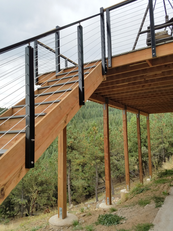 Deck Railing Post 45 Degree Corner