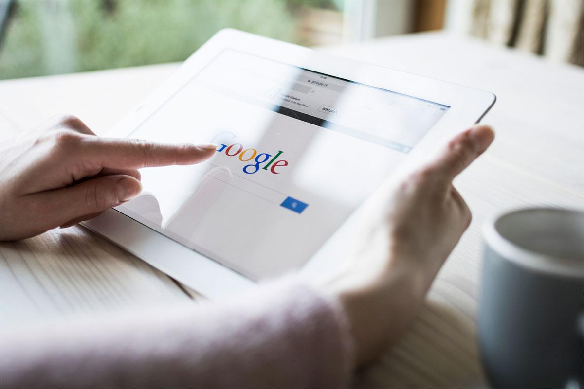 Rumah Google di Tablet