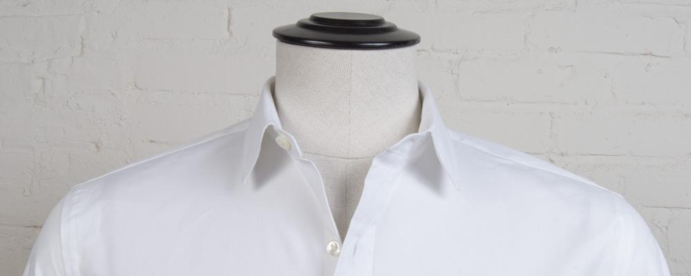 Semi Spread Collar Proper Cloth