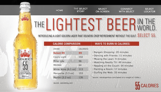 Calories Bud Light