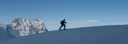 Ski touring is a booming exercise