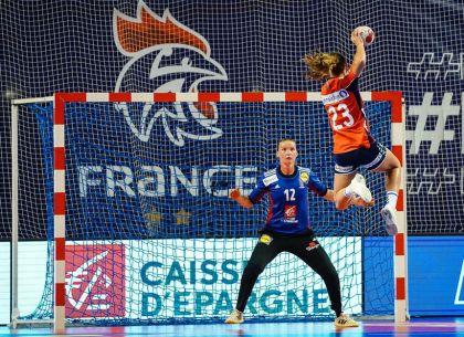 Amandine Leynaud, ardéchoise, worldwide handball goalkeeper
