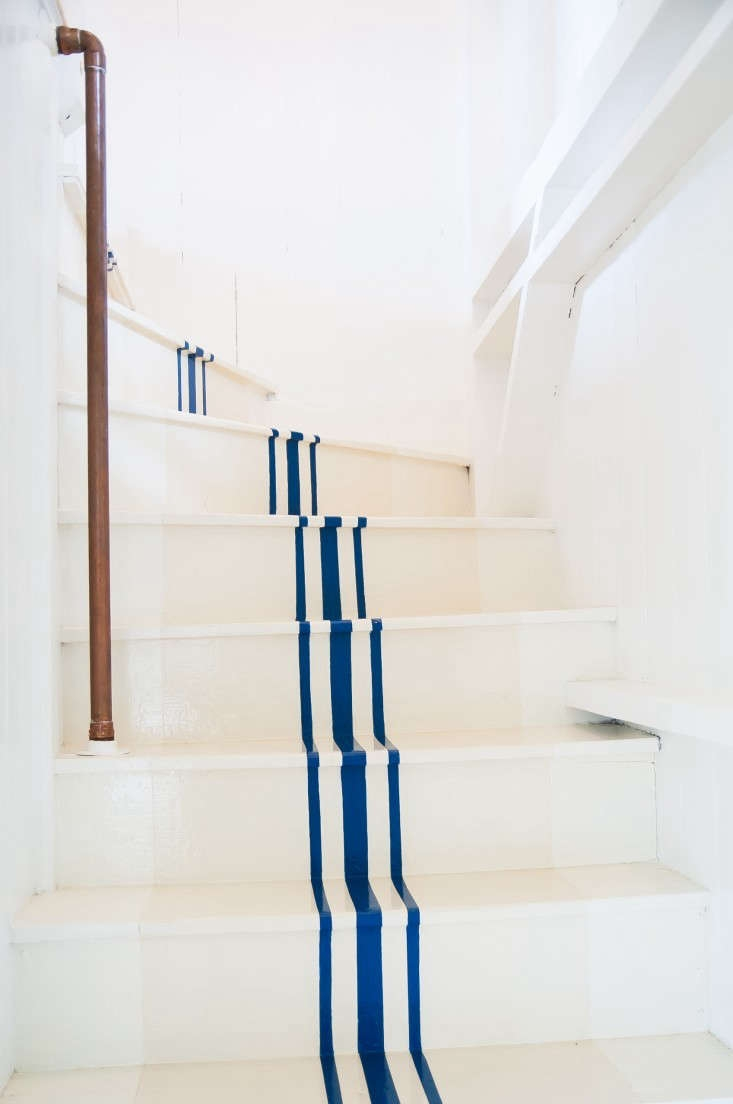 Remodeling 101 All About Stair Runners Remodelista | Average Cost To Carpet Stairs | Stair Case | Stair Runner | Hardwood Floors | Wood Flooring | Carpet Installation Cost